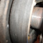 brake drums damaged