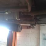 broken exhaust renault megane